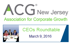 acg nj ceo roundtable