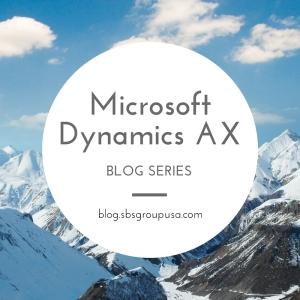 microsoft dynamics ax blog series