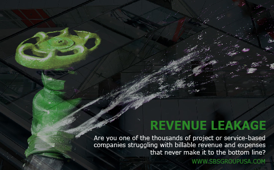 The Sbs Group Blog Revenue Leakage In Project Driven